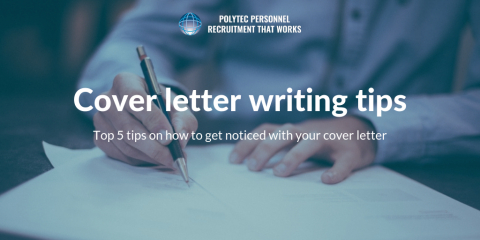 Cover Letter Writing Tips